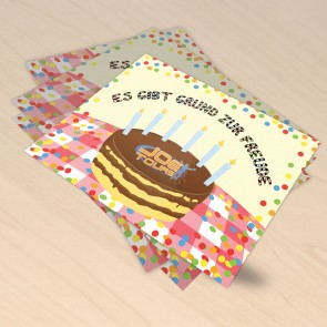 Geburtstagkarte 2014
