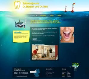 Design für zahnarztpraxis-karlstal.de